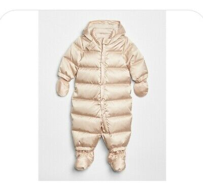 £29.95 • Buy Gap Baby Cold Control Max Snow Suit Metallic Frost Rrp £64
