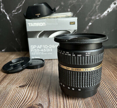 """AU275.84 • Buy Tamron 10-24mm F3.5-4.5 Lens SP Di-II IF AF For Sony A-Mount """"Excellent"""""""