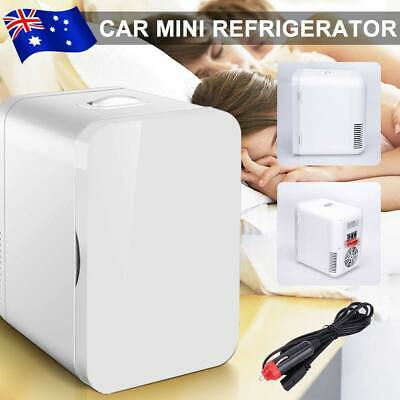 AU57.85 • Buy 8L 2 IN1 Mini Fridge Vehicle Auto Home Cosmetic Drinks Beer Cooler Refrigerator