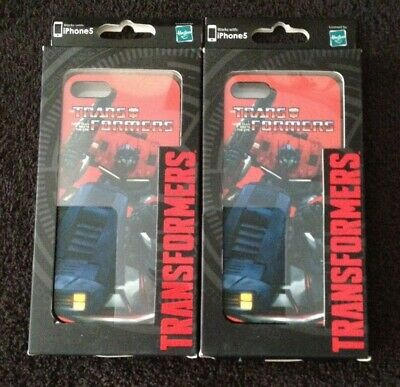 £7.29 • Buy *LOT OF 2 NEW* TRANSFORMERS OPTIMUS PRIME SNAP PHONE CASE COVER IPHONE 5 & 5S