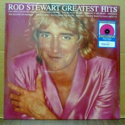 £15.91 • Buy ROD STEWART Greatest Hits Pink Colored Vinyl LP Record Walmart Exclusive SEALED
