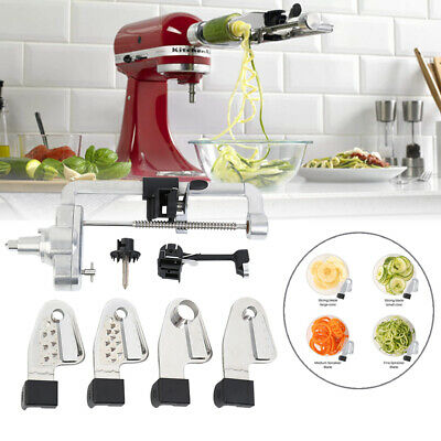 £45.99 • Buy Spiralizer Attachment For KitchenAid Stand Mixer 5 Blades Peel, Core And Slice