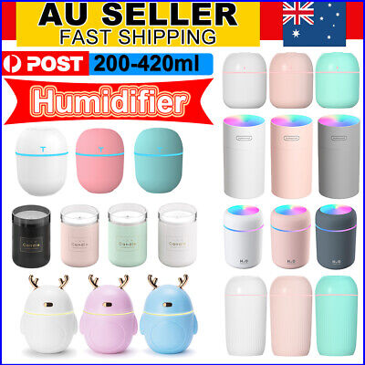 AU12.69 • Buy Electric Air Diffuser Aroma Oil Humidifier USB Night Light Up Home Relax Defuser