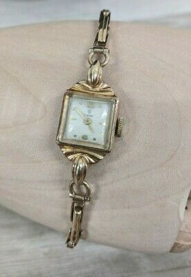 £100 • Buy Solid 9ct 375 Gold Hallmarked R W Co Ltd Case With Tudor Watch - SPARES