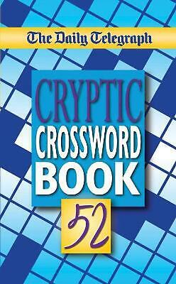 £9.99 • Buy Daily Telegraph Cryptic Crosswords Book 52 By Telegraph Group Limited Paperback
