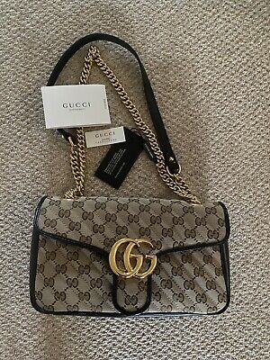AU2297.69 • Buy Gucci GG Marmont Quilted Small Bag BNWT