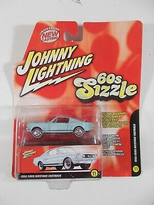 AU3.03 • Buy Johnny Lightning 1/64 60s Sizzle 1966 Ford Mustang Fastback
