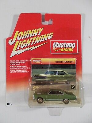AU3.03 • Buy Johnny Lightning 1/64 Mustang & Fords 1967 Ford Fairlane GT