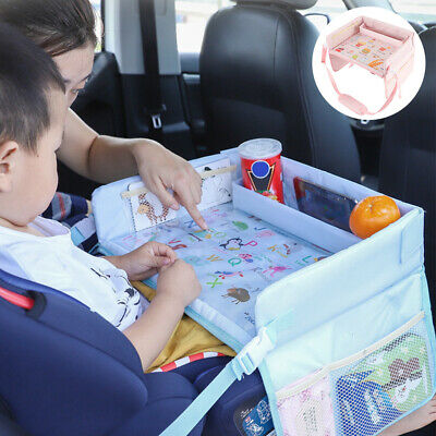 £15.99 • Buy Car Safety Seat Waterproof Snack Baby Table Kids Play Travel Waterproof Tray FA