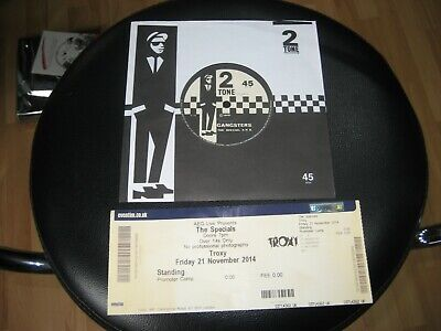 £8.99 • Buy The Specials - Gangsters-- 2Tone Single Vinyl 7  Ska Two Tone  TICKET USED