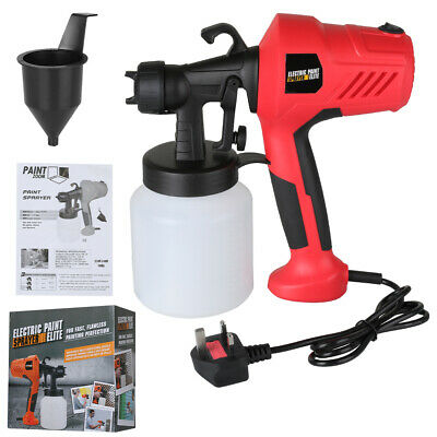 £13 • Buy Paint-Sprayer-Spray Gun Airless Electric 500W Home/Outdoor Wall Fence Car -