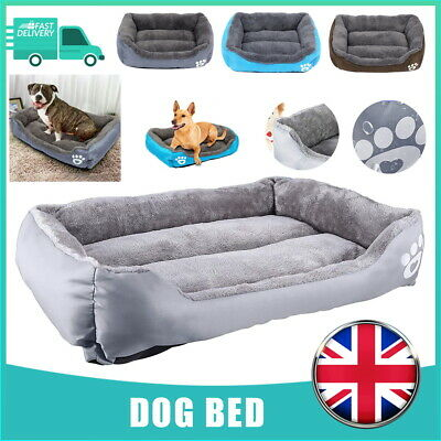 £19.99 • Buy Dog Beds Pet Cushion House Waterproof Soft Warm Bed Kennel Blanket Extra Large