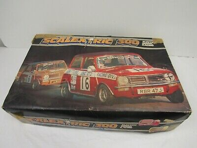 £10 • Buy Scalextric 300  C579 Set Boxed - Mini GT. Electric Model Racing  Classic DOW FUR