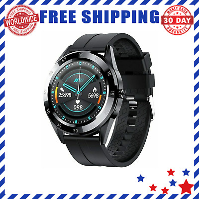 AU49.39 • Buy Men's Smart Watches With Heart Rate Blood Pressure Bluetooth Fitness Watch Sport