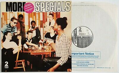 £29.95 • Buy THE SPECIALS More Specials (Two Tone CHR TT 5003) Promo With Poster EX+