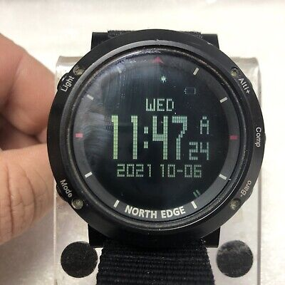 £3.20 • Buy NORTHEDGE Men Military Army Sports Watch Waterproof Altimeter-SportWatch Compass
