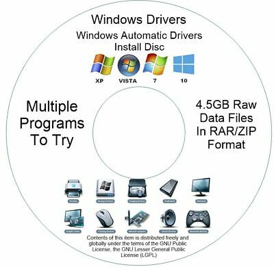 £2.69 • Buy Drivers Pack Disc For Any Windows Computer Windows 10 8 7 Vista XP 32/64 Bit