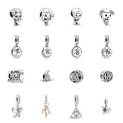 AU17.89 • Buy New Pandora Harry Potter Charm S925 ALE Sterling Silver & With Gift Bag