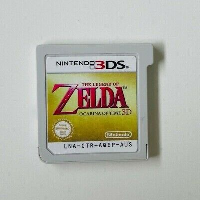 AU42 • Buy The Legend Of Zelda: Ocarina Of Time 3D - Nintendo 3DS Cart - Free Tracked Post!