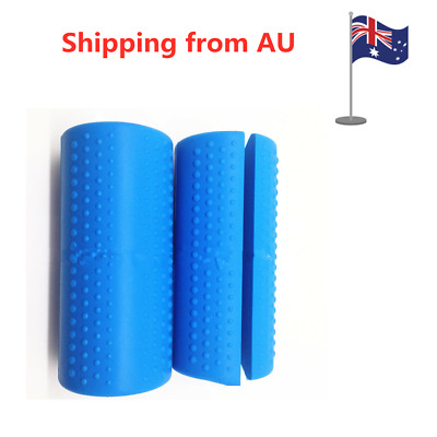 AU18.99 • Buy 1 Pair Barbell Dumbbell Grips Kettlebell Fat Grip Thick Bar Handles Pull Up Pad