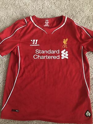 £0.99 • Buy Liverpool Home Shirt Warrior Age 6/7 Years