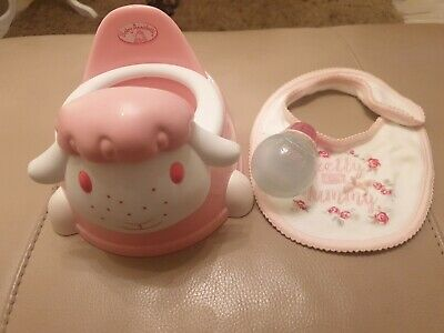 £4.50 • Buy Baby Annabell Bundle : Potty With Sounds And Feeding Bottle