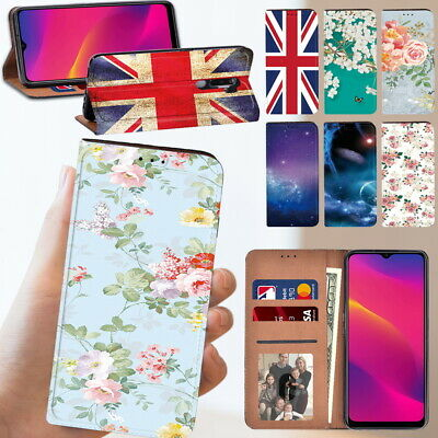 £3.99 • Buy Leather Stand Wallet Phone Cover Case Fit OPPO A5  A9 (2020) A11 A11X Icellphone