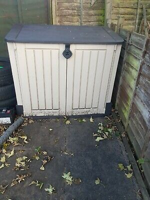 £127 • Buy Keter XL Store It Out Midi Garden Storage Box Shed Keter Bin Box Store Max -880L