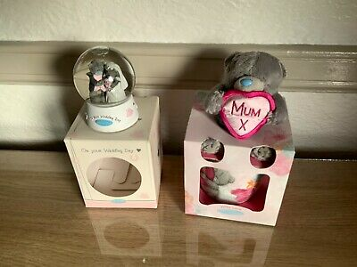 £12 • Buy 2 Me To You, On Your Wedding Day Snow Globe Boxed, And Mum Mug And Bear Vguc