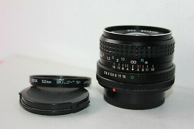 £35.99 • Buy Canon FD Tokina RMC 28mm F2.8 Wide Angle Prime Lens. Fits AE-1 A-1 Camera