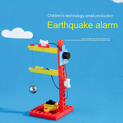 AU8.36 • Buy 1 Set Earthquake Experiment Toy Electric Novelty Practical Fun For Kids