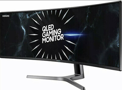 AU269.38 • Buy Samsung Odyssey 49  CRG9 120hz Curved Ultra-Wide Monitor C49RG90SSN For Parts