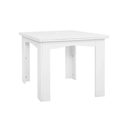 AU123.50 • Buy Artiss Extending Dining Table 6 Seater Wooden Kitchen Tables White Cafe