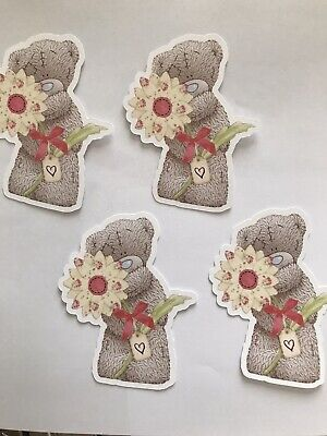 £2.50 • Buy Tatty Teddy Card Toppers X 4 *embellishments/toppers/card Making -  Flower