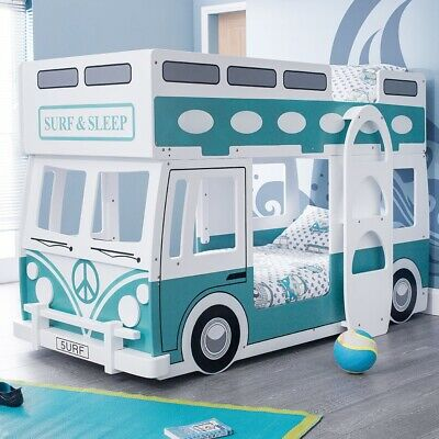 £370 • Buy Campervan Bed Surfer Style Green & White Bunk Bed Rrp £700      07428764293