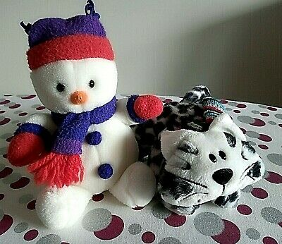 £10.99 • Buy Tesco Chilly And Friends Chester The Cat And Snowman - 8