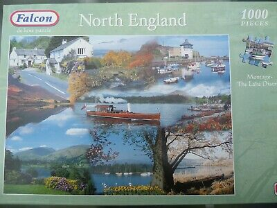 £1.99 • Buy Falcon 1000 Piece Jigsaw Puzzle, The Lake District, North England