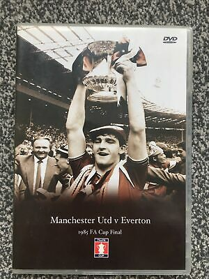 £7.99 • Buy 1985 FA Cup Final Manchester United V Everton (DVD)