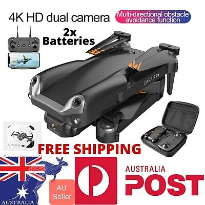 AU129.97 • Buy OAS Air 2S 4K Camera Drone Control 2021 Bag 2x Battery Obstacle Quadcopter New!