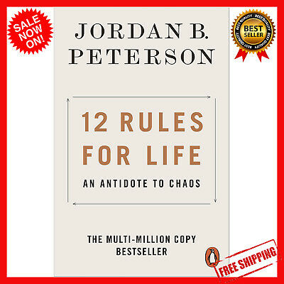 AU15.98 • Buy NEW 12 Rules For Life 2019 By Jordan B. Peterson Paperback Book   FREE SHIPPING