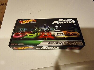 AU80 • Buy Fast And The Furious Hot Wheels Premium Box 5 Pack