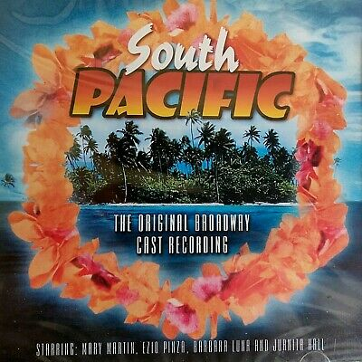 £2.49 • Buy NEW SEALED - SOUTH PACIFIC  Original Broadway Musicals Soundtrack Music CD Album