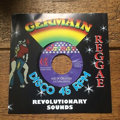 £6.99 • Buy Cultural Roots-age Of Creation..germain Records 7'