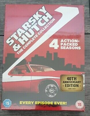 £14.49 • Buy STARSKY AND HUTCH COMPLETE SERIES 1-4 DVD Collection UK New/sealed