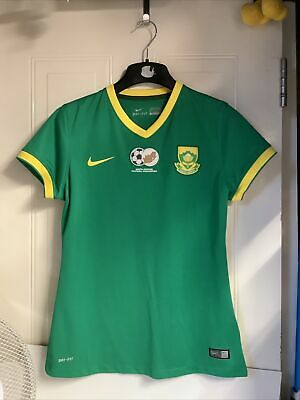 £14.99 • Buy South Africa National Team Football Away Shirt 2015 Nike Dri-fit Green Size M