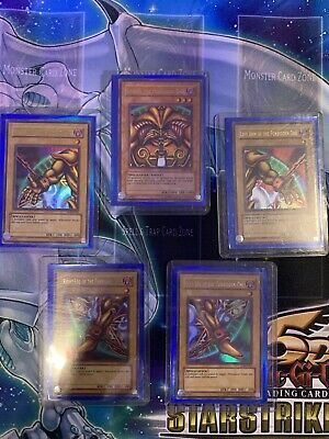 £48 • Buy Yu-Gi-Oh! LOB Exodia The Forbidden One Full Set (LOB-E101 And Others)