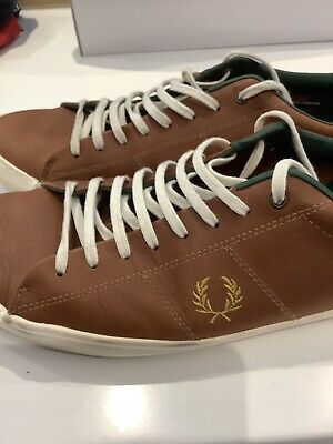 £25 • Buy Bradley Wiggins Fred Perry Trainers Shoes Size 11