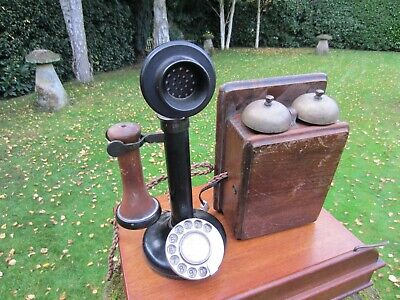 £85 • Buy Original Candlestick Telephone GPO 150 With Bell Box Bakelite In Great Shape VGC