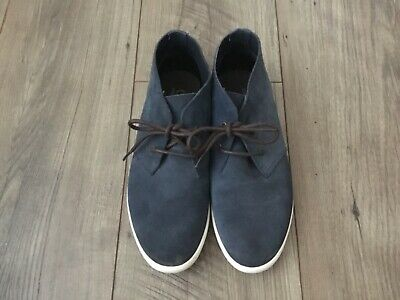 £5 • Buy Fred Perry Ladies Blue Suede Shoes, UK 5, Excellent Condition