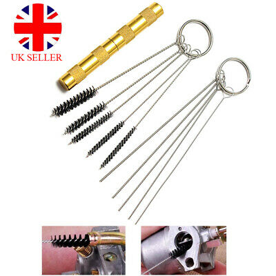 £4.99 • Buy 11pcs Airbrush Cleaning Needle And Brush Accessories Kit For Spray Gun Cleaner